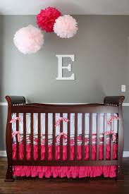 Wall Decor For Girls Baby Girl Nursery Room Ideas In Smaller Space Decorations Baby