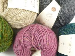 Rowan Fine Tweed Colour Chart Rowan Fine Tweed Knitting Yarn Various Colours