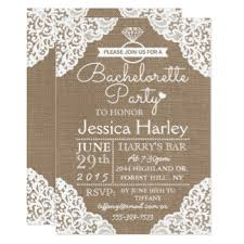 bachelorette party invite lace bachelorette party invitations announcements zazzle