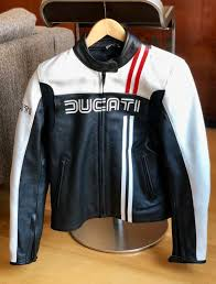 new ducati leather jacket 80s collection