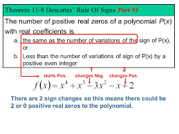 Chapter 11 Polynomial Functions Ppt Video Online Download
