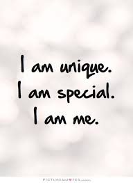 Who Am I Quotes Amazing I Am Unique I Am Special I Am Me Be Yourself Quotes On