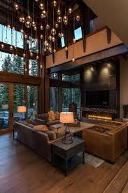 Lake Tahoe getaway features contemporary barn aesthetic. Contemporary  Rustic DecorModern ...