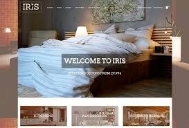Small Picture IRIS free interior design wordpress theme