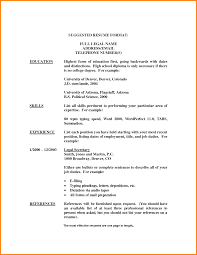High School Education On Resume List High School Diploma On Resume List High School Diploma