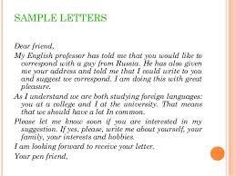 Welcome letter P    The English School SlideShare English for Business Writing