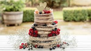 Naked Vanilla Celebration Cake Baking Mad