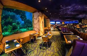 Image Underwater Grill Its One Thing When The Restaurant Is Full And Light Noise Helps Separate Conversations But This Felt Like We Were All Sitting Together Disney Tourist Blog Coral Reef Restaurant Revisited The Good Bad Disney Tourist Blog