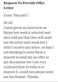 You Got A Job Offering Letter In A Mail But You Are Not