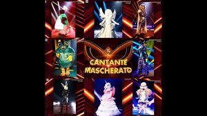 Un pezzetto d'Italia al Cantante Mascherato Uk: ecco chi è ...
