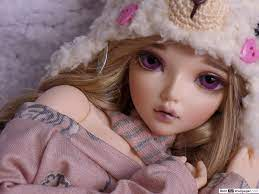 Beautiful Doll HD wallpaper download