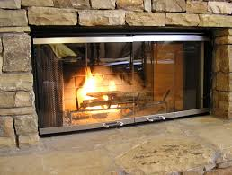 fireplace door replacement glass home design ideas