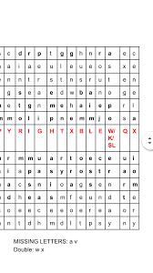 Caliper Test Pattern Answers