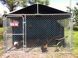 10x10 Chicken Coop Design Dog Kennel Coop Diy Dog Kennel Chickens Backyard