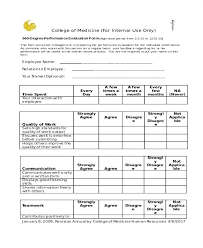 employee evaluation feedback restaurant employee evaluation form onbo tenan