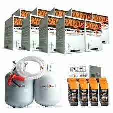 open cell spray foam kit 9 tiger foam ft e fast rise spray foam insulation kits