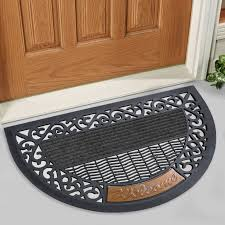 accessories indoor doormat creative bestfh black door mat indoor outdoor wel e mat rug rubber