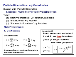 projectile equations math 1 particle projectile physics math