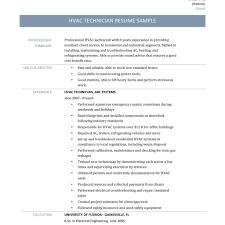 Download Hvac Technician Resume | Haadyaooverbayresort with Hvac Technician  Resume
