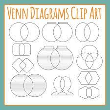 Art Venn Diagram Venn Diagrams Clip Art Set For Commercial Use By Hidesys Clipart