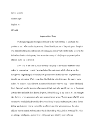 essay on police brutality essay on police brutality the friary  argumentative essay body worn video police brutality