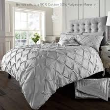 alford duvet cover with pillowcase quilt bedding set silver sets king kitchen home plain shabby chic