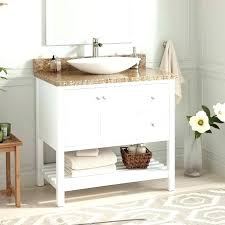 24 Vessel Sink Vanity Combo Top At  Cabinet In Vanity Combo N8