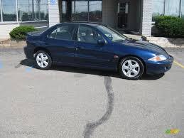 2002 Indigo Blue Metallic Chevrolet Cavalier Z24 Sedan #16387411 ...