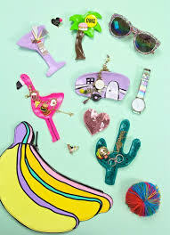 diy palm springs jewelry dishes