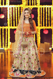 Fb Dress Design Nn Design Visit Fb Page Pakistani Mehndi Dress Pakistani