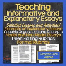 informative explanatory essay unit structure model essays informative explanatory essay unit structure model essays and more