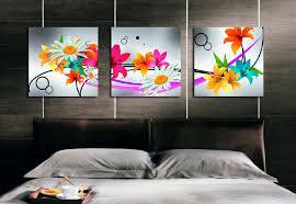 bright modern wall art