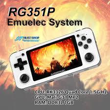 Máy Chơi Game RG351P Phiên Bản Mới Hỗ Trợ Cực Mượt PSP/PS1/Dreamcast Tích  Hợp Sẵn Hơn 2500 Games giảm chỉ còn 1,990,000 đ