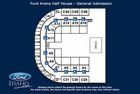 Seating Charts Ford Idaho Center