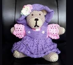 Crochet Teddy Bear Pattern Custom Crochet Teddy Bear Pattern