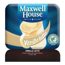 Maxwell House Coffee Vending Machine Impressive Klix Maxwell House Vanilla Latte Garraways