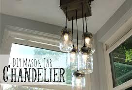 pottery barn inspired mason jar chandelier lauren mcbride