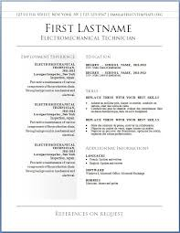 free online resume sample free resume template online