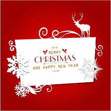 Free Download Greeting Card Christmas Greeting Card Free Vector In Adobe Illustrator Ai Ai
