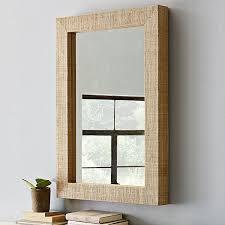 wood framed wall mirrors photo 1