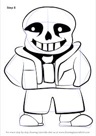 596x842 learn how to draw sans from undertale undertale step by step