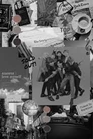 BTS Aesthetic Black Wallpapers ...