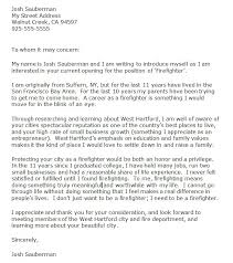 Firefighter Cover Letter F Stunning Fire Chief Interview Thank You