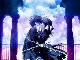cool anime couple hd wallpaper 12866 1024x768