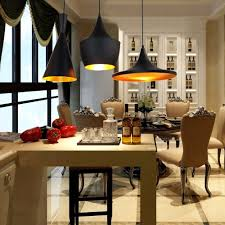 tom dixon style lighting. Reproduction Of Tom Dixon Beat Shade Tall Pendant Light Lamp - Blackpendants Style Lighting