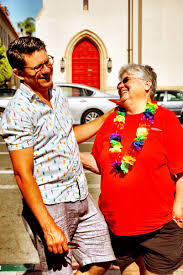 """Troy Johnson on Twitter: """"I love you, mom. Gay Pride, San Diego. She  marched, I cheered, we laughed. #LoveWins… """""""