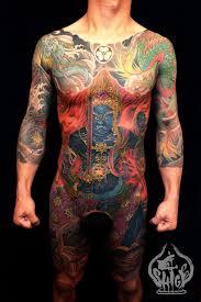 Shigenori Shige Iwasaki Full Body Yellowblaze Tattoo Studio