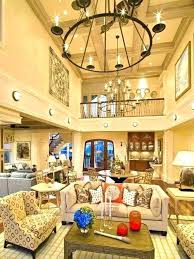 great room chandelier height living in stylish rustic chandeliers