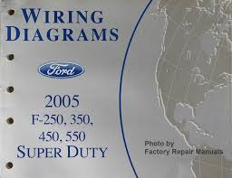 2005 ford f250 f350 f450 f550 super duty truck electrical wiring 2006 ford super duty wiring diagram at F350 Super Duty Wiring Diagram