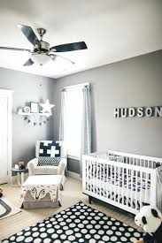 nursery decor boy soft gray paint idea with black and white for boys room baby decorating